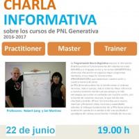 Charla informativa sobre cursos de PNL Generativa
