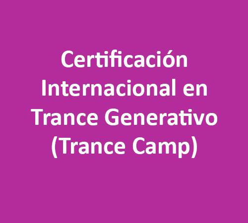 Certificación Internacional en Trance Generativo (Trance Camp)